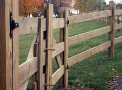 Horse fence